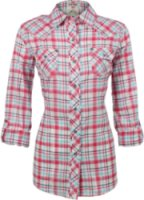 Ariat Carlee Plaid Long Sleeve Western Shirt
