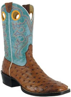 Ariat Crossfire Full Quill Ostrich Boots