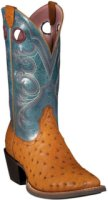 Ariat Crossfire Full Quill Ostrich Exotic