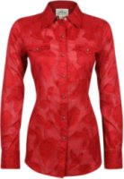 Ariat Jacquard Long Sleeve Western Floral Shirt