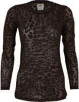 Ariat Long Sleeve Cheetah Print Burn-Out Tee