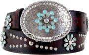 Ariat Snowflake Leather Belt