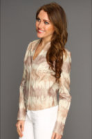 Badgley Mischka Mark James Tie Dyed Blazer