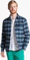 Band of Outsiders Lightweight Plaid Cotton Flannel Jacket 3