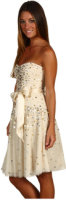BCBG Max Azria Strapless Tulle Party Dress