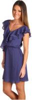 BCBGeneration Double Ruffle Sleeveless Dress