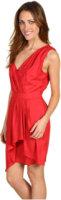 BCBGeneration Shoulder Pleat Dress