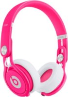 Beats by Dre Mixr Headphones - Neon Pink