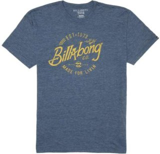 Billabong Blue Collar T-Shirt