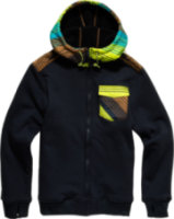 Billabong Cairn Tech Fleece Full-Zip Hoodie
