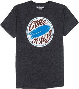 Billabong Gone Fishing T Shirt