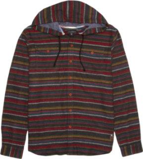 Billabong Ryder Hooded Flannel Shirt - Long-Sleeve