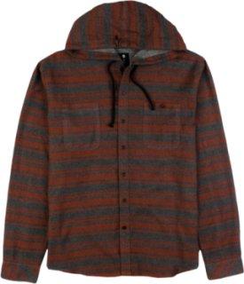 Billabong Slammer Hooded Button-Down Flannel Shirt