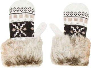 Billabong Snowy Fuzz Mittens