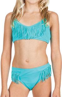 Billabong Solid Fringe Bikini