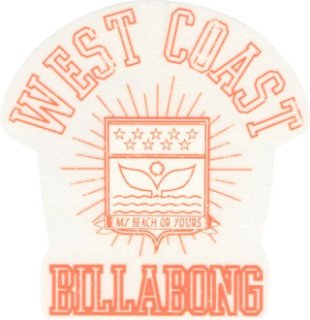 Billabong Something Is Cooking Sticker