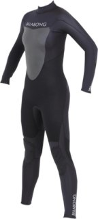 Billabong Synergy 3/2 Back Zip Wetsuit