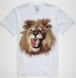 Billabong White Mike Jungle King T-Shirt