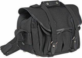 Billingham 225 SLR Camera Shoulder Bag Black with Black Trim.