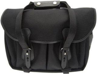 Billingham 335 SLR Camera Shoulder Bag Black with Black Trim