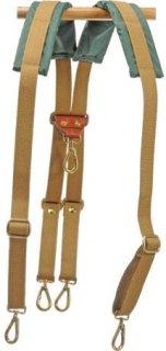 Billingham Backpack Harness for the 106 206 306 225 335 445 555 Packington Bags Khaki.