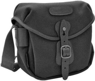 Billingham Digital Hadley Digital or Film SLR Camera Bag with Bellowed Front Pocket Black