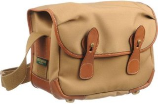 Billingham L2 (Alice) Camera Bag Khaki Canvas with Tan Leather Trim and Brass Fittings