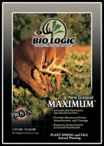 Biologic New Zealand Maximum Annual Seed