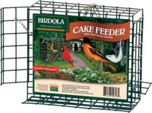 Birdola Products Cake Feeder With Perch