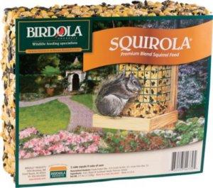 Birdola Products Squirola Cake Feed