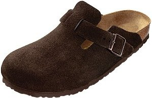 Birkenstock Boston Mocha Suede-Narrow