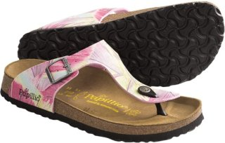 Birkenstock Papillio by Birkenstock Gizeh Brush Art Sandals