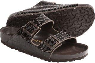 Birkenstock Tatami by Birkenstock Arizona Croco Sandals