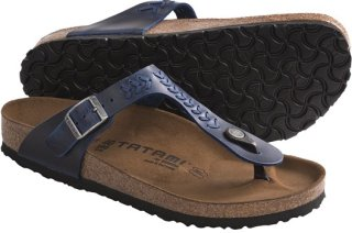 Birkenstock Tatami by Birkenstock Gizeh Woven Sandals