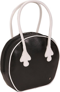 Bisadora Leather Bowling Bag