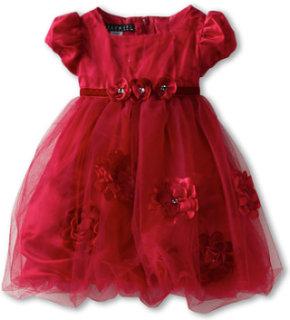 Biscotti Pocketful Of Posies Puff Sleeve Dress