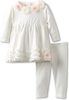 Biscotti Pom Pom Petals Dress & Legging