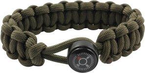 Bison Belts Compass Button Bracelet