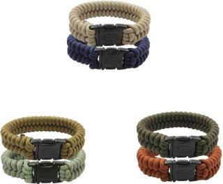 Bison Belts Coreless Side Release Double Strand Bracelet