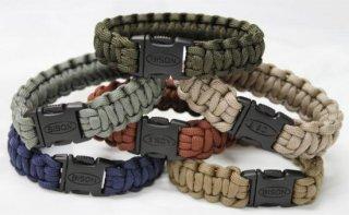 Bison Belts Survival Bracelet - Side Release Cobra Braid