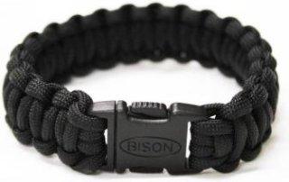 Bison Designs Paracord Side Release Survival Bracelet - Cobra