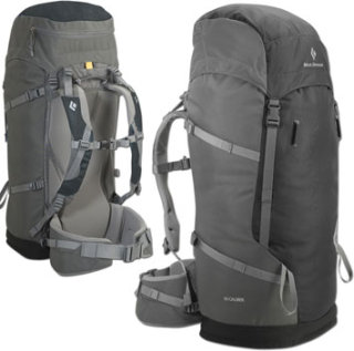Black Diamond 50 Caliber Pack-Gray-L