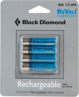 Black Diamond AAA Rechareable Battery 4-Pack