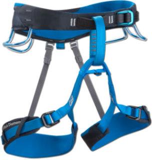Black Diamond Aspect Climbing Harness-Blue-XL