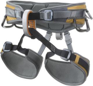 Black Diamond Big Gun Climbing Harness-Yellow-L