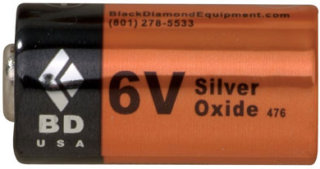 Black Diamond 6-Volt Battery at SunnySports