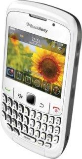 BlackBerry 8520 Unlocked Smartphone for GSM Network - White
