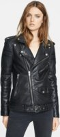 BLK DNM Leather Biker Jacket X-Small