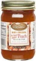 Bob Timberlake No Sugar Added Peach Fruit Butter