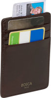 Bosca Old Leather Deluxe Front Pocket Wallet